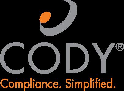 Cody Compliance. Simplified. Logo